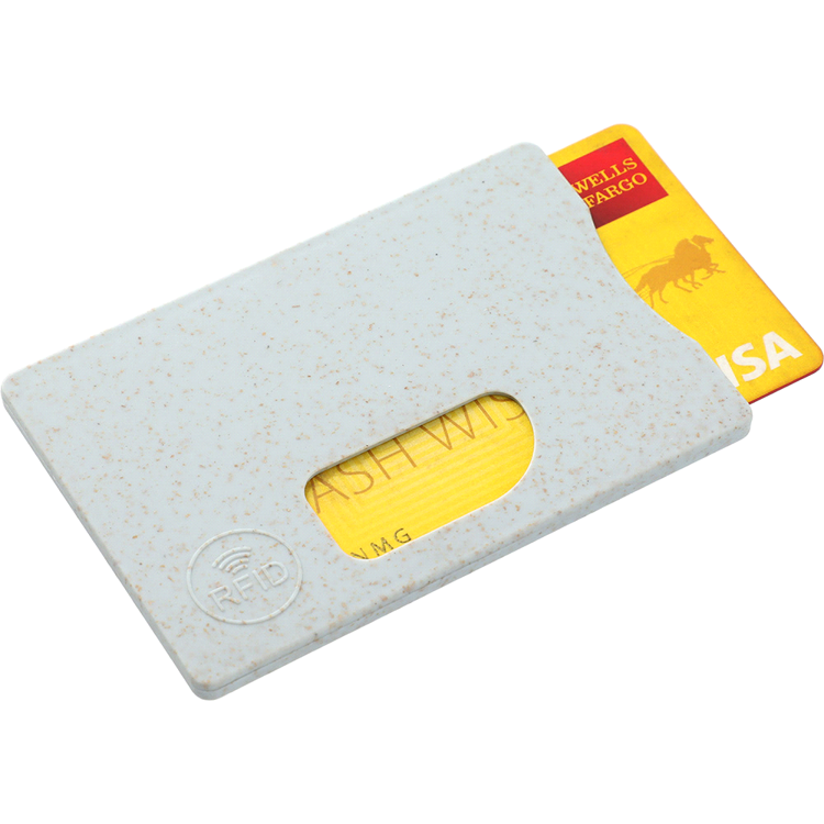 Picture of Wheat Straw RFID Card holder